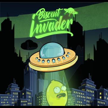 Aroma Concentrato Biscuit Invader 75ml Mega Formato - Shake 'N' Vape