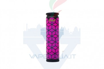 Able Mod Copper Geometric Square Pink/Black with Rings - Avid Lyfe