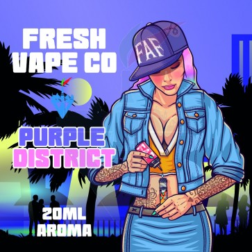Aroma Concentrato Purple District 20ml Grande Formato - Fresh Vape Co