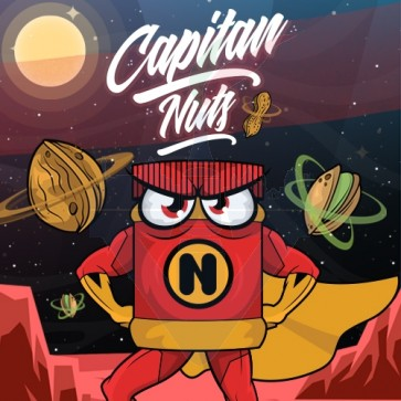 Aroma Concentrato Capitan Nuts 20ml Grande Formate - Shake 'N' Vape