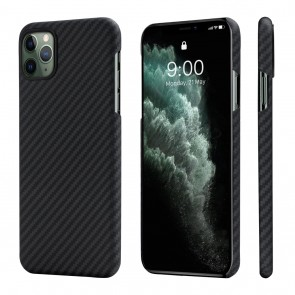 Cover MagEz Case per iPhone 11 Pro Max 6.5'' (Black/Grey) - Pitaka