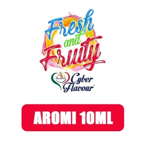 Aromi Concentrati Fresh and Fruity 10ml - Cyber Flavour