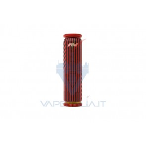 Able Mod Copper Geometric Invert Red/Black with Rings - Avid Lyfe