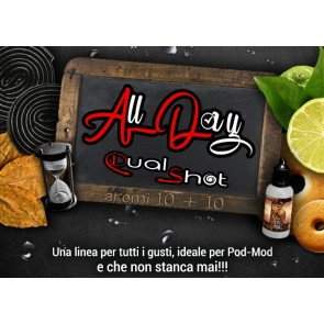 Aromi Concentrati ALL DAY Dual Shot 10ml - King Liquid