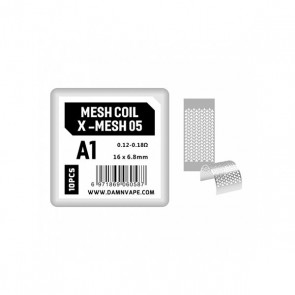 Coil X Mesh 05 Confezione da 10 Pezzi - Damn Vape