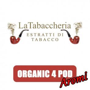 Aromi Concentrati Organic 4 Pod 10ml - La Tabaccheria